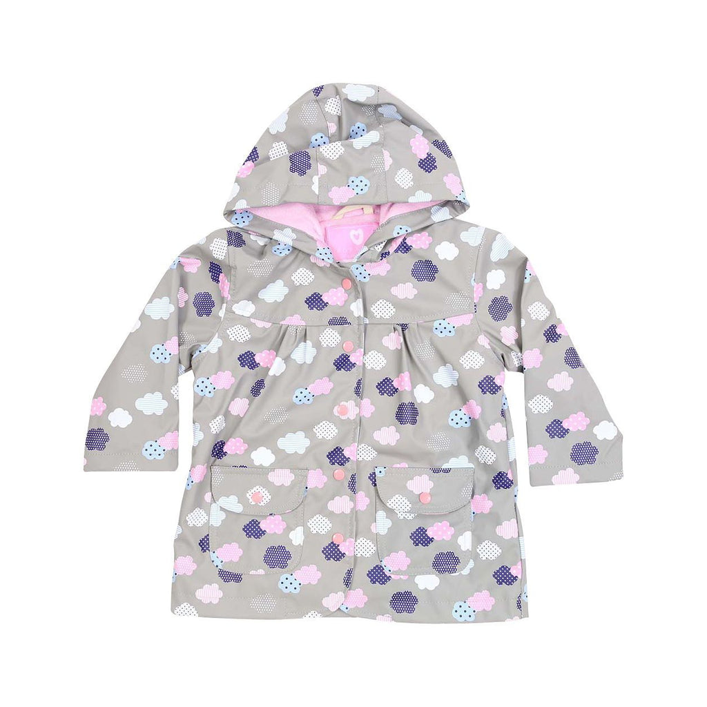 A1342G Rainwear Raincoat Cloud Print French Terry Lined-Rain Wear-Korango