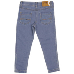 A1156L Frosty Fun Denim Knit Jean-Bottoms-Korango