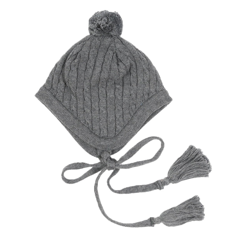 B1106C Mr Fox Cable Knit Beanie-Accessories-Korango