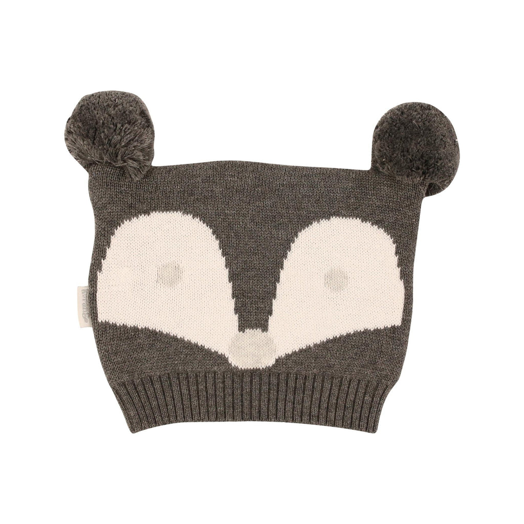 B1107C Mr Fox Beanie-Accessories-Korango