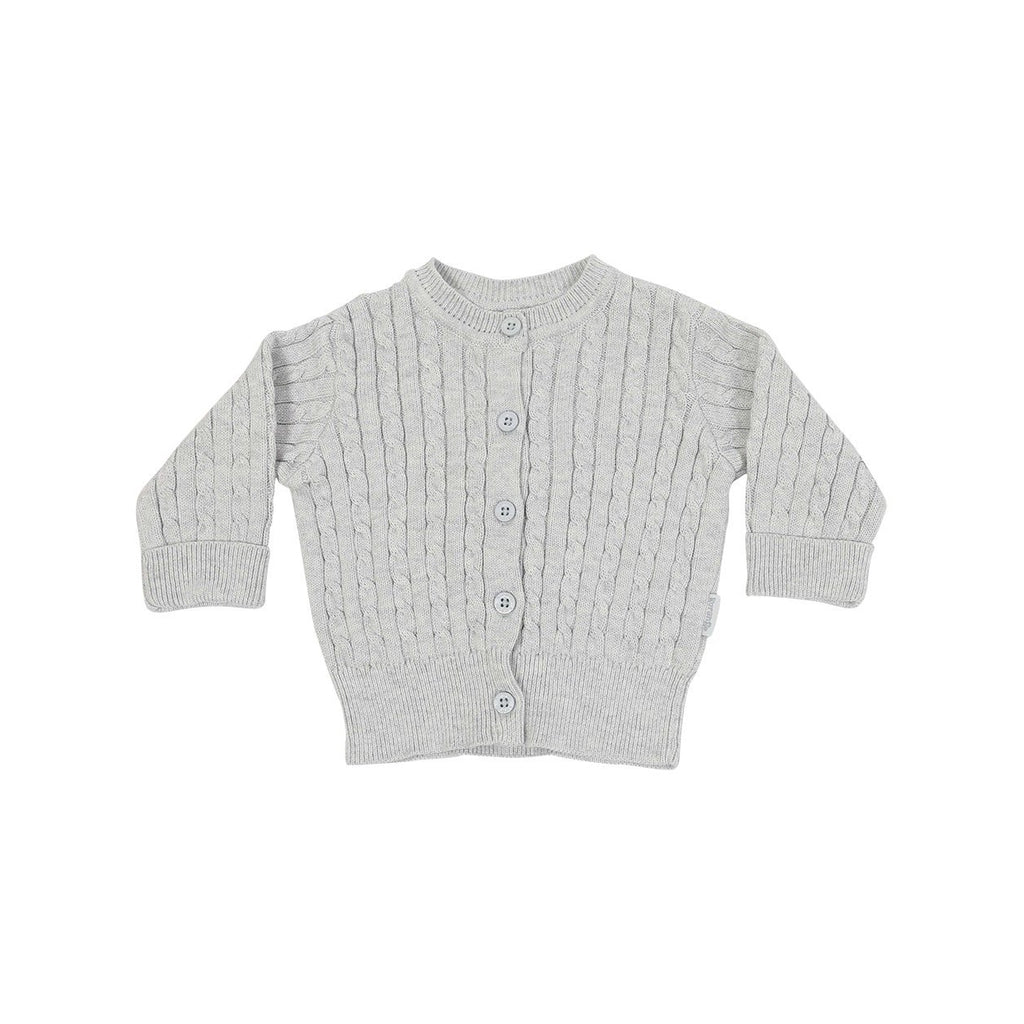 B1111G Little Fawn Cable Knit Jacket-Cardigans/Sweaters/Jackets-Korango