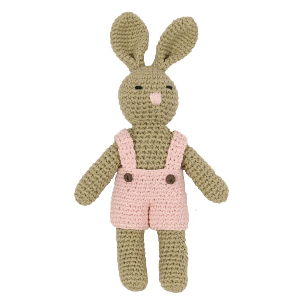 B1134 Baby Gifts Bunny Rattle Toy