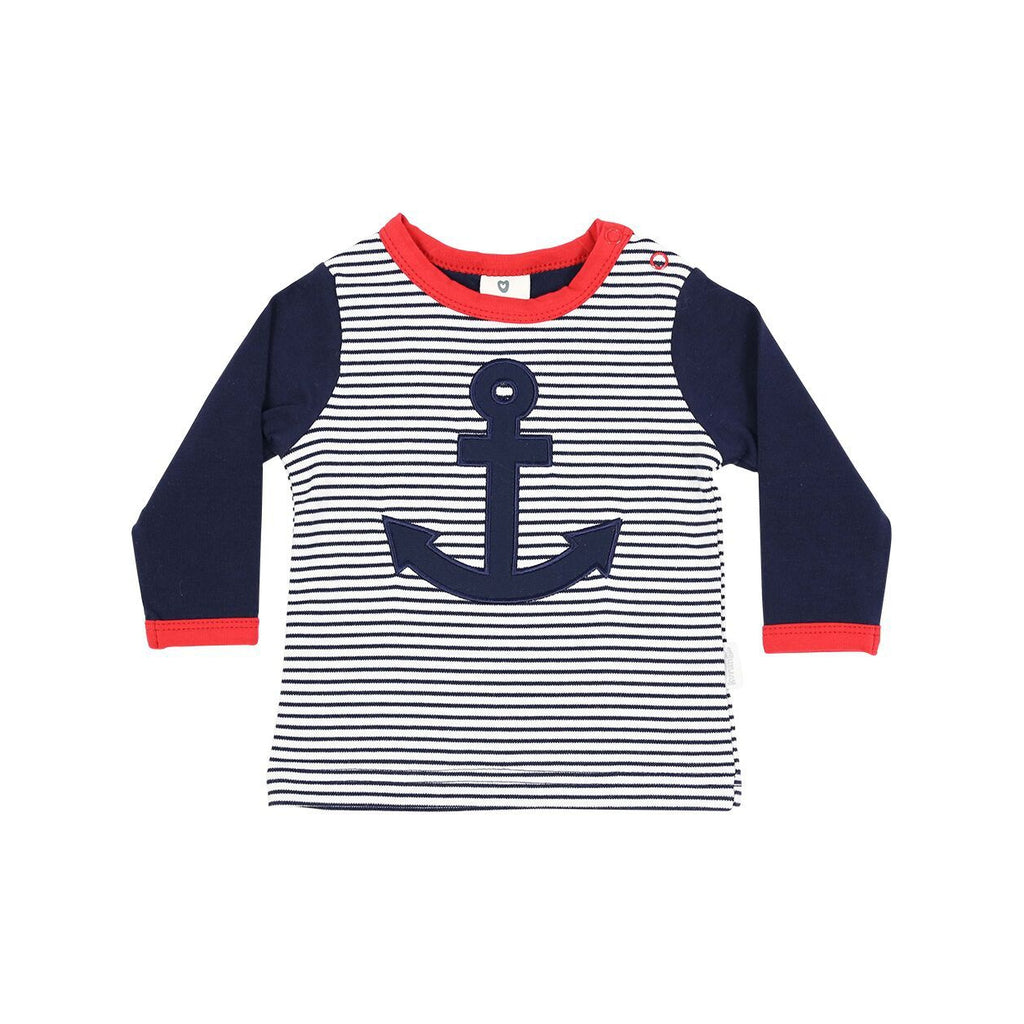 C1118 Little Boater Top-Tops-Korango