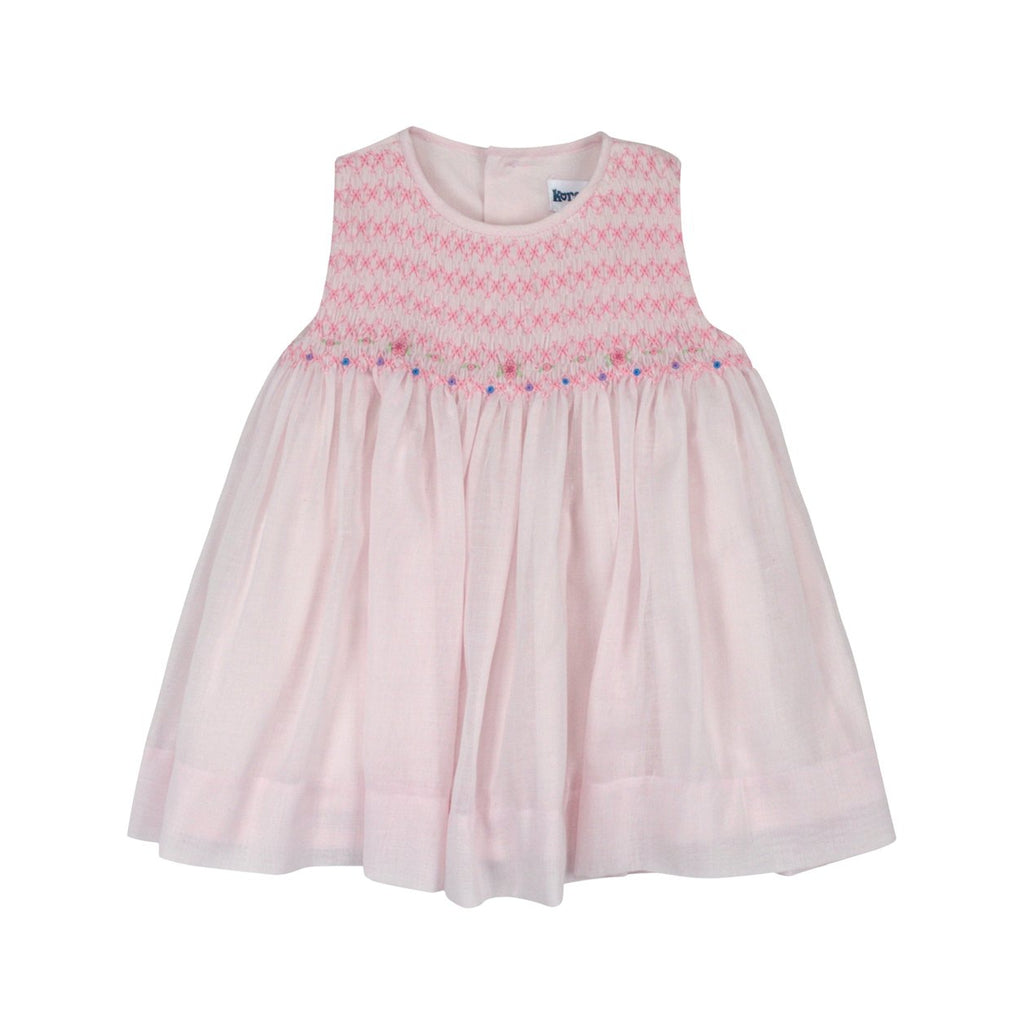 C8002 Summer Class Sleeveless Smocked Dress