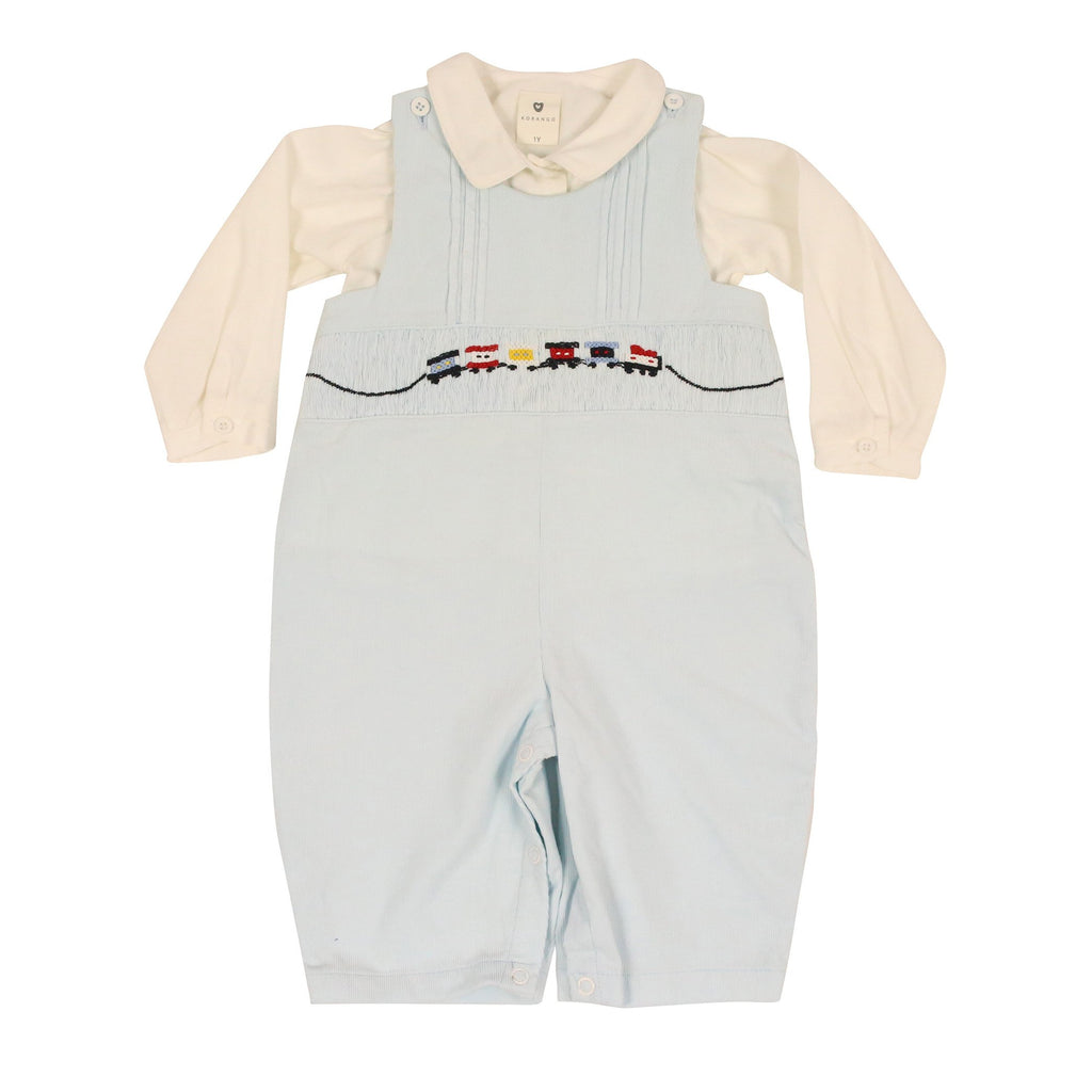C9015 Classic Train Overall & Shirt-Sets-Korango