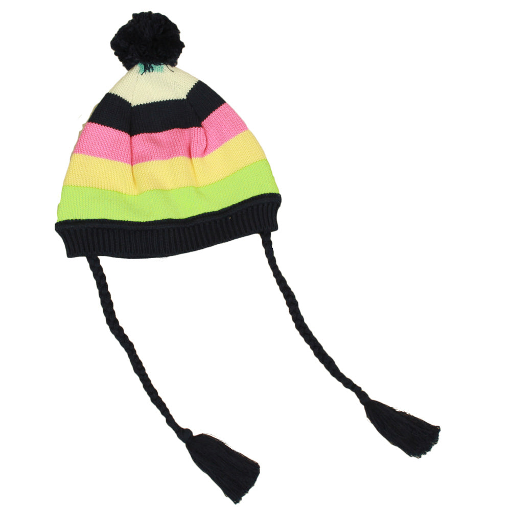 DL5027 Knit Rainbow Beanie-Accessories-Korango
