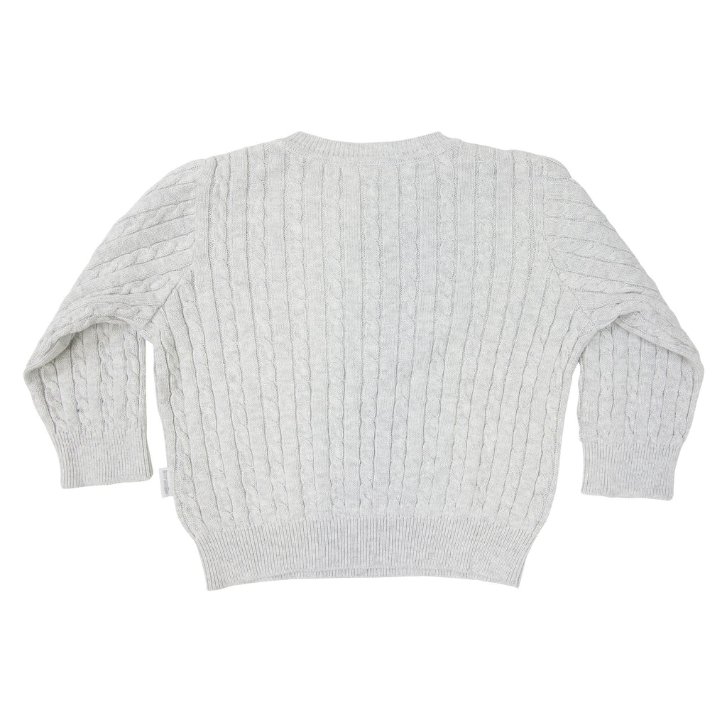 A1725G Shooting Star Cable Knit Sweater