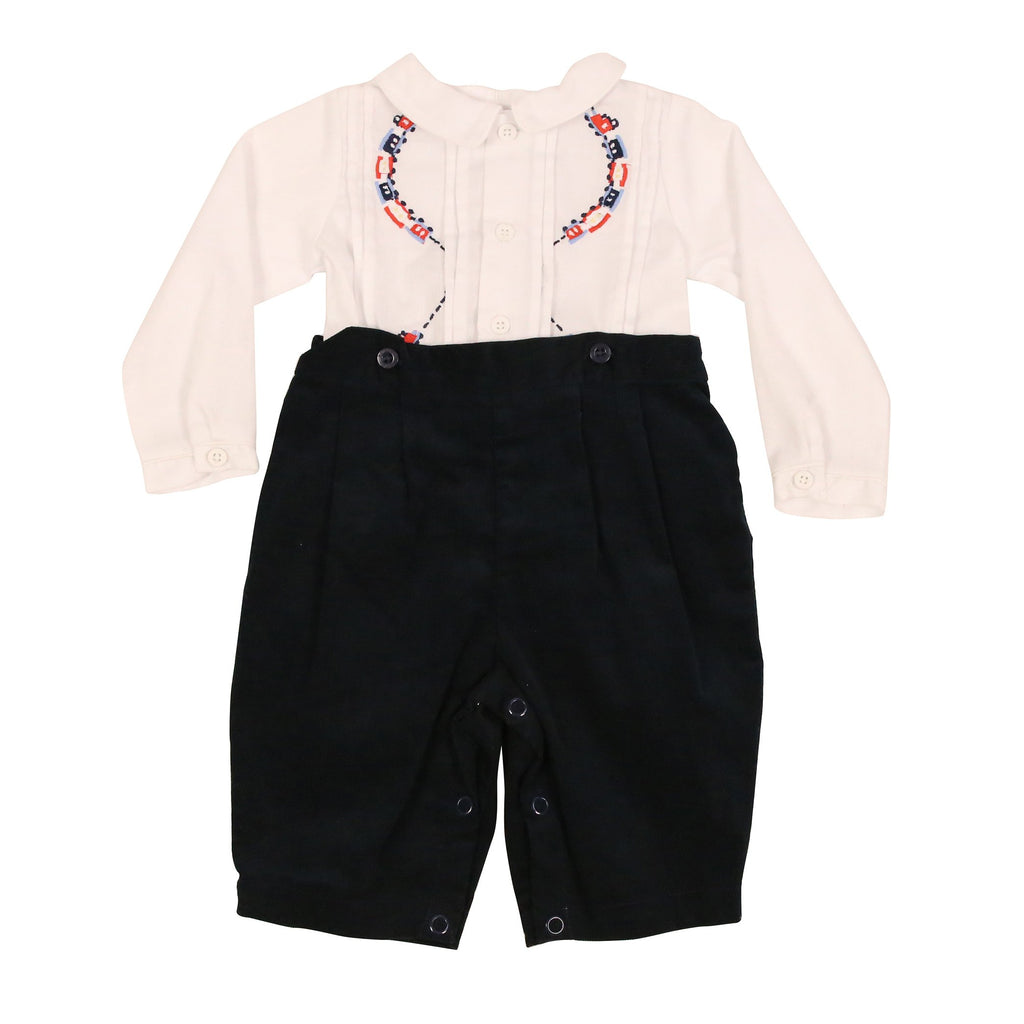 C9016 Classic Train Shirt & Pant Set-Sets-Korango