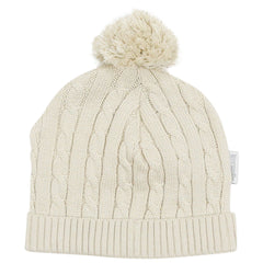 C1521B Modern Vintage Cable Knit Beanie