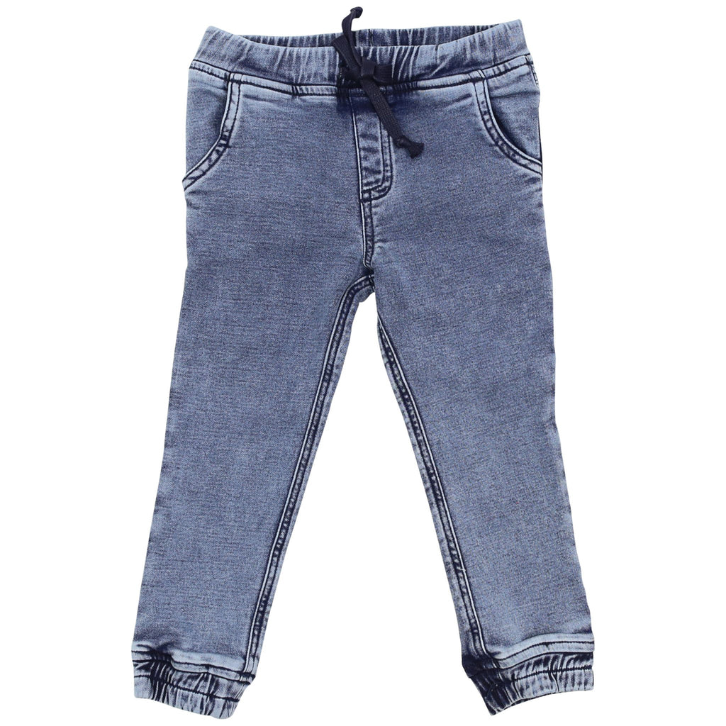 A1520L Cowboy Denim Knit Pant