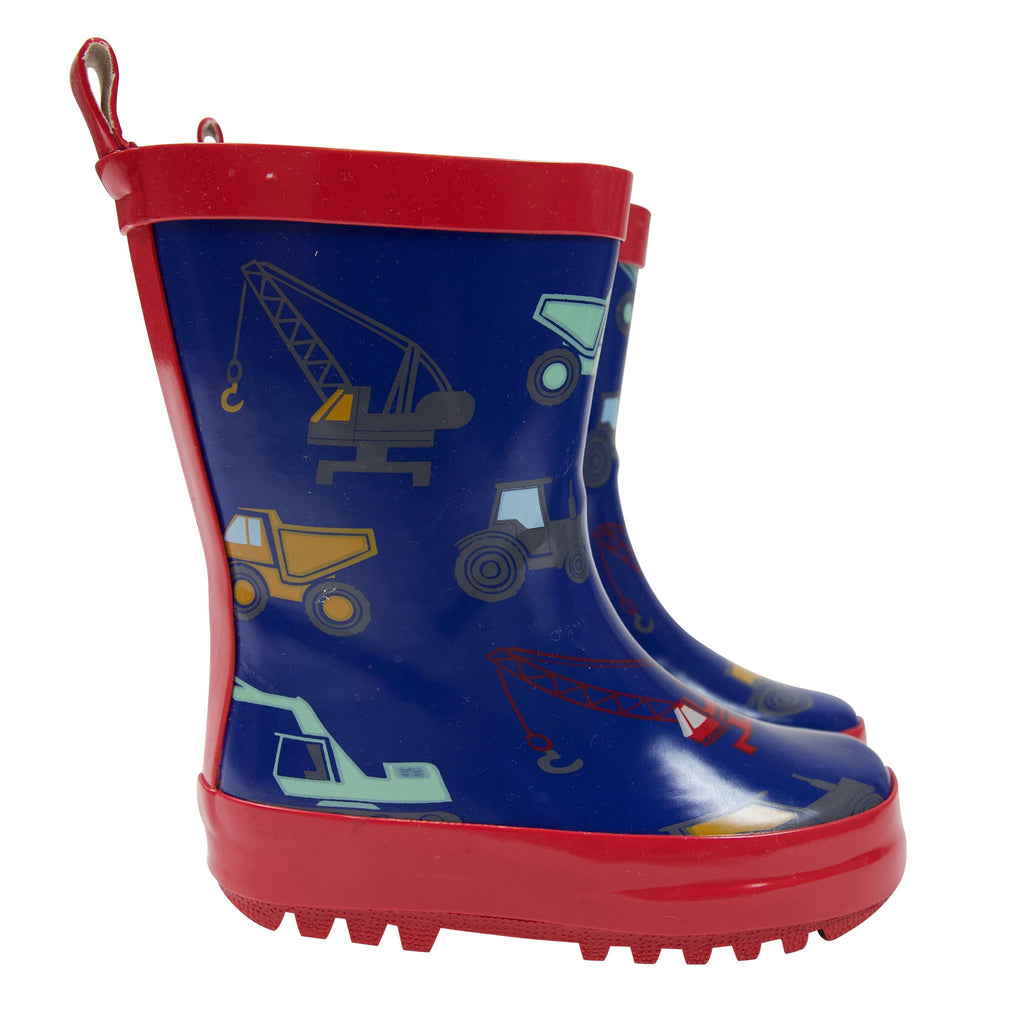A1760N Rainwear Boys Construction Rain Boot