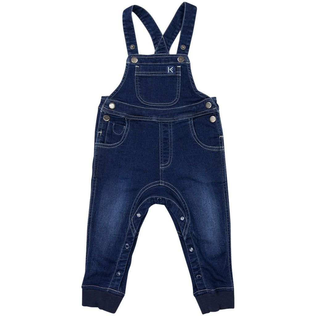A1707D Excavator Faux Denim Overall