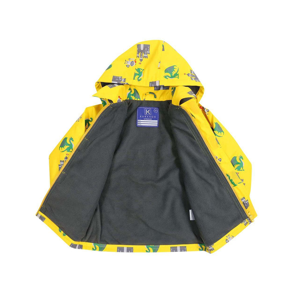 A1348Y Rainwear Knights and Dragons-Rain Wear-Korango