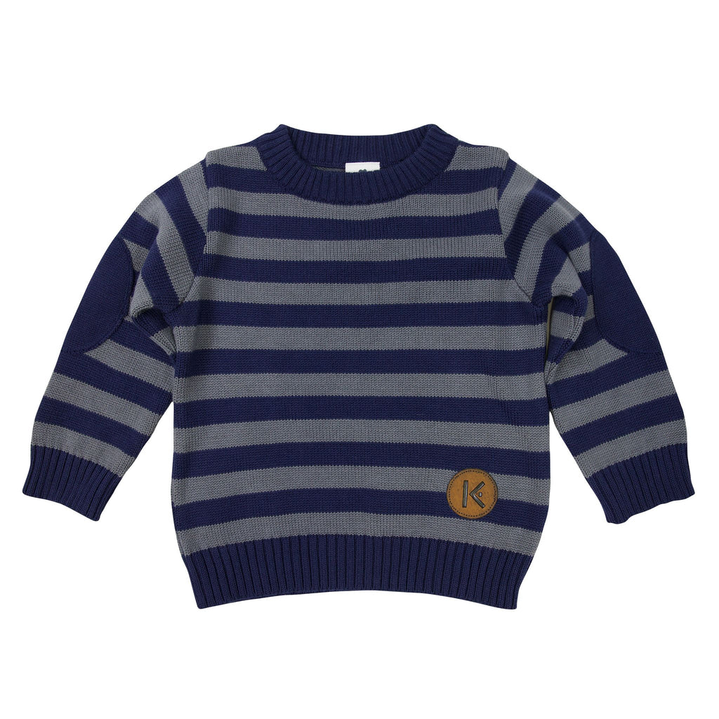 A1719C Construction Stripes Sweater
