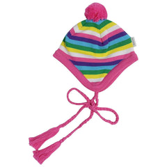 A1359R Standing out from the Crowd Lined Beanie with Pom Pom-Accessories-Korango