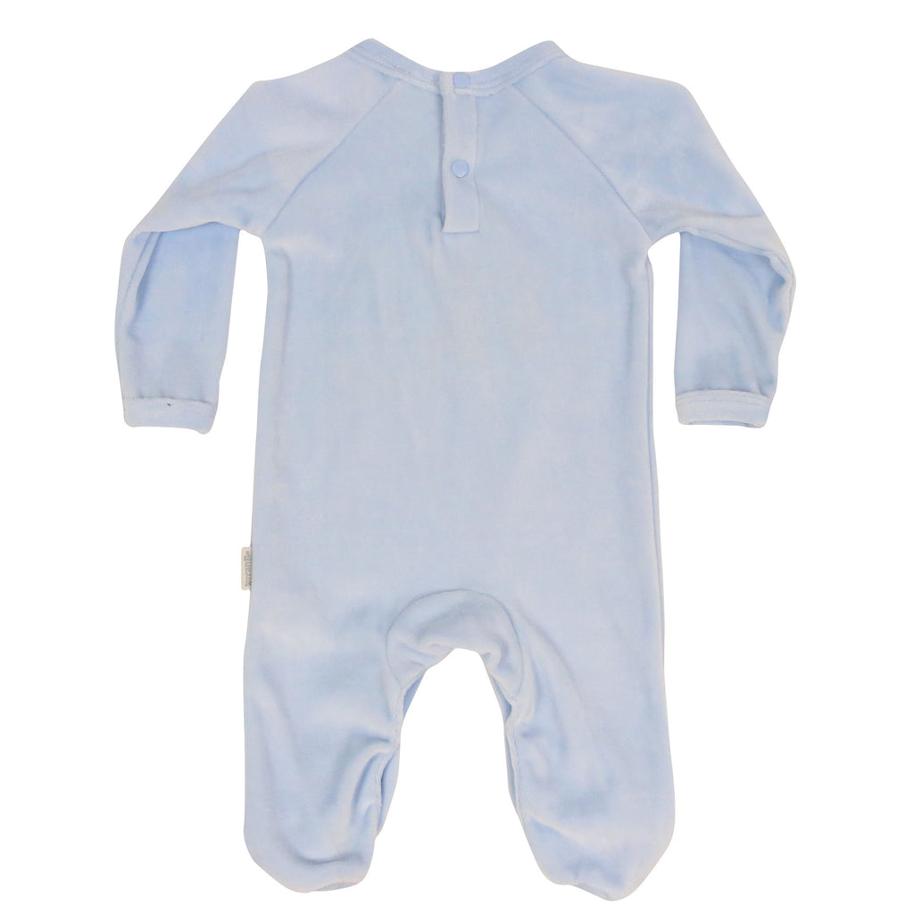 B9025 Forest Friends Velour Romper-All In Ones-Korango