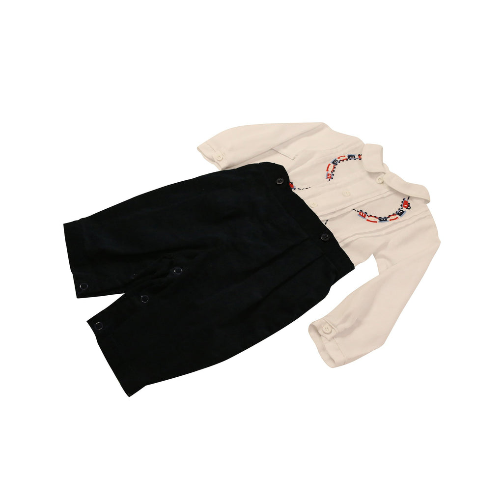 C9016 Classic Train Shirt & Pant Set