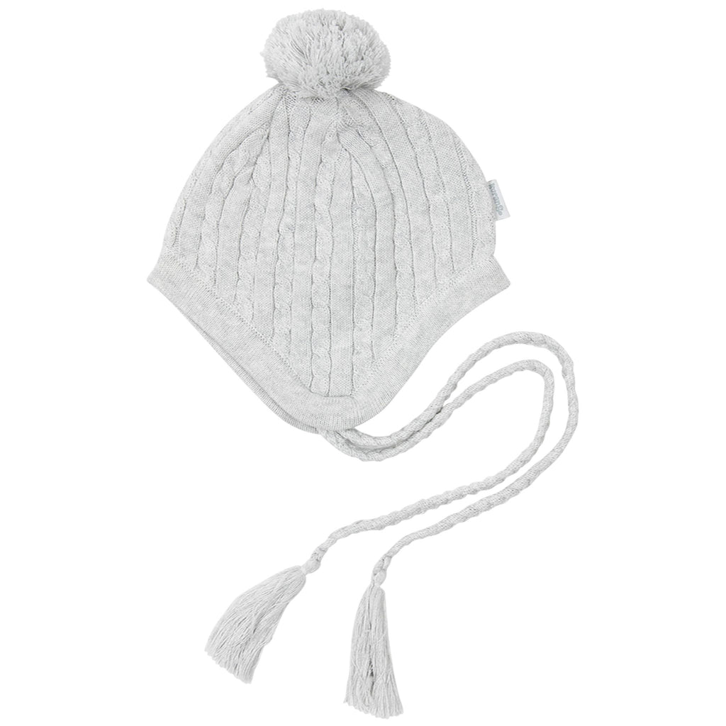 A1730G Shooting Star Cable Knit Beanie