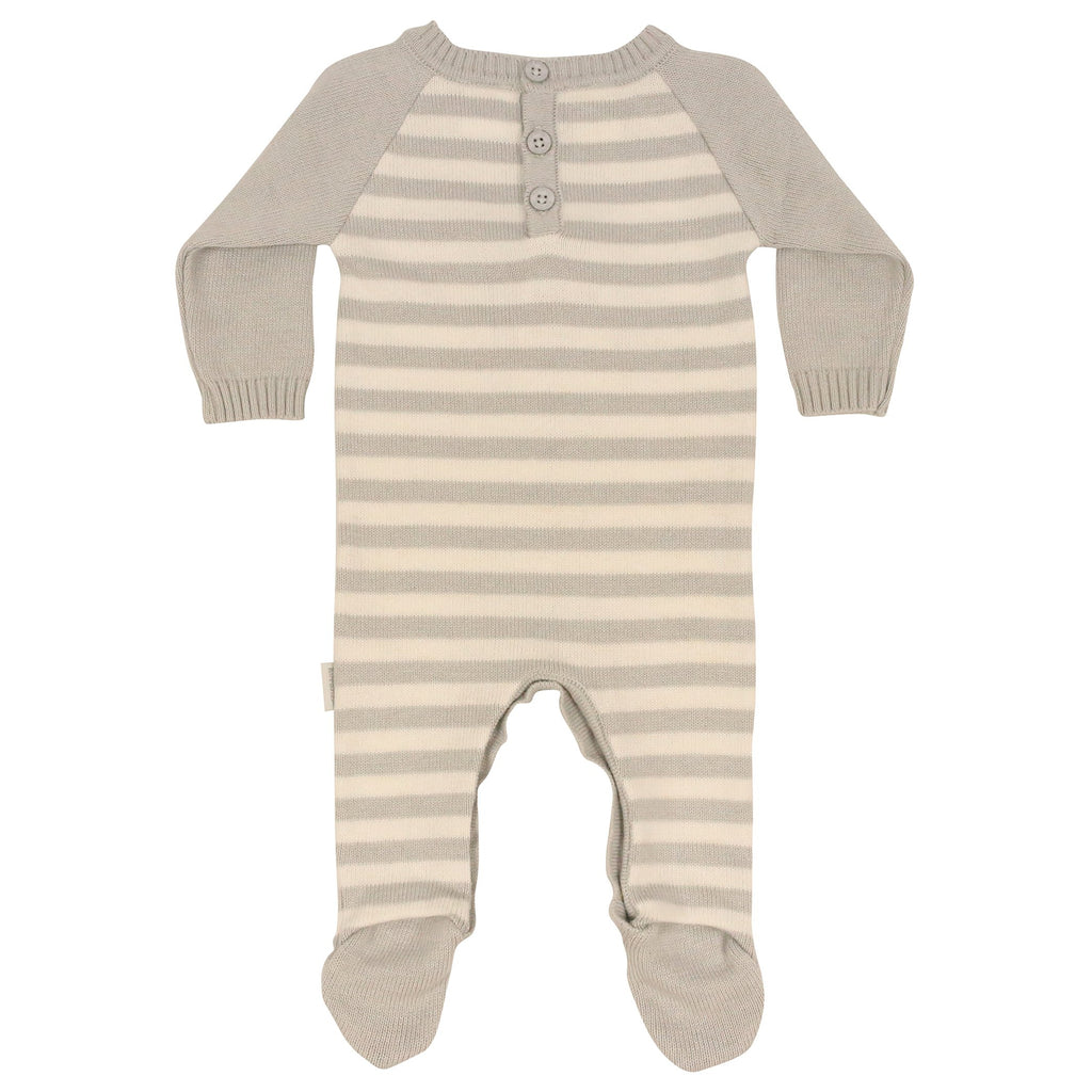 B9030 Wool Blends Knit Romper