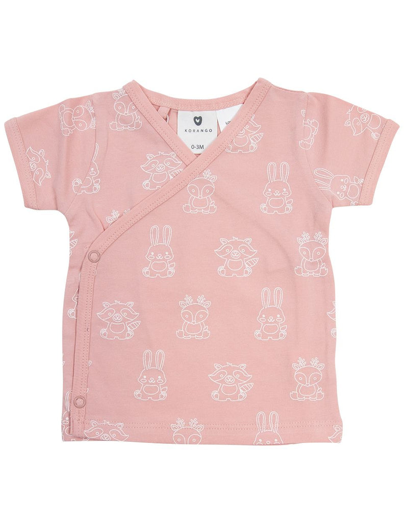 B1603PP Forest Friends Organic Top