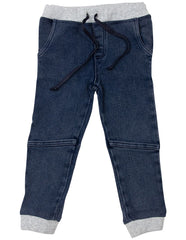 A1617T Frenchy Stretch Denim Knit Pant