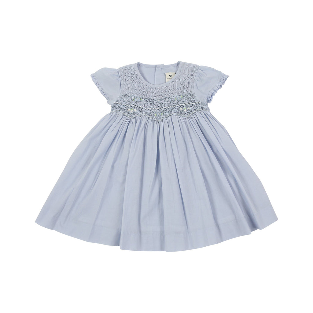 C1001 Sweet Style Timeless Smocked Dress