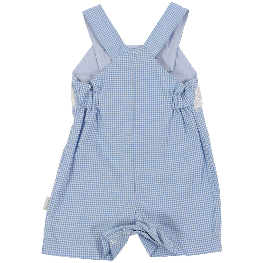C1009 Cute & Classy Hand Smocked Overall-All In Ones-Korango