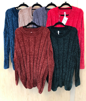 Chenille Sweater