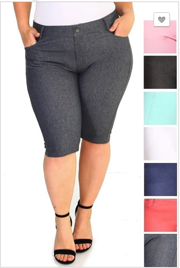 Bermuda Short Jeggings