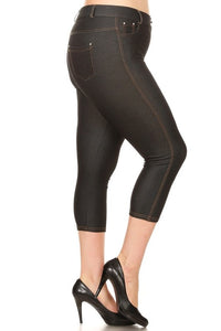 Capri Jegging- Black
