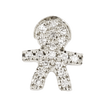 Small Boy with Pavé Diamonds