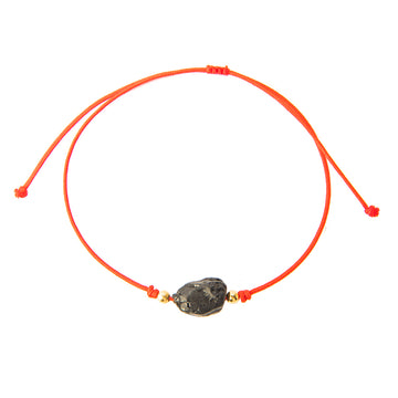Red String Bracelet with Black Tourmaline