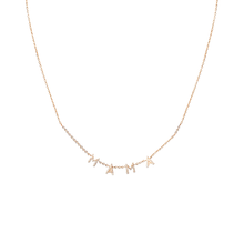 Customizable Diamond Letter Necklace