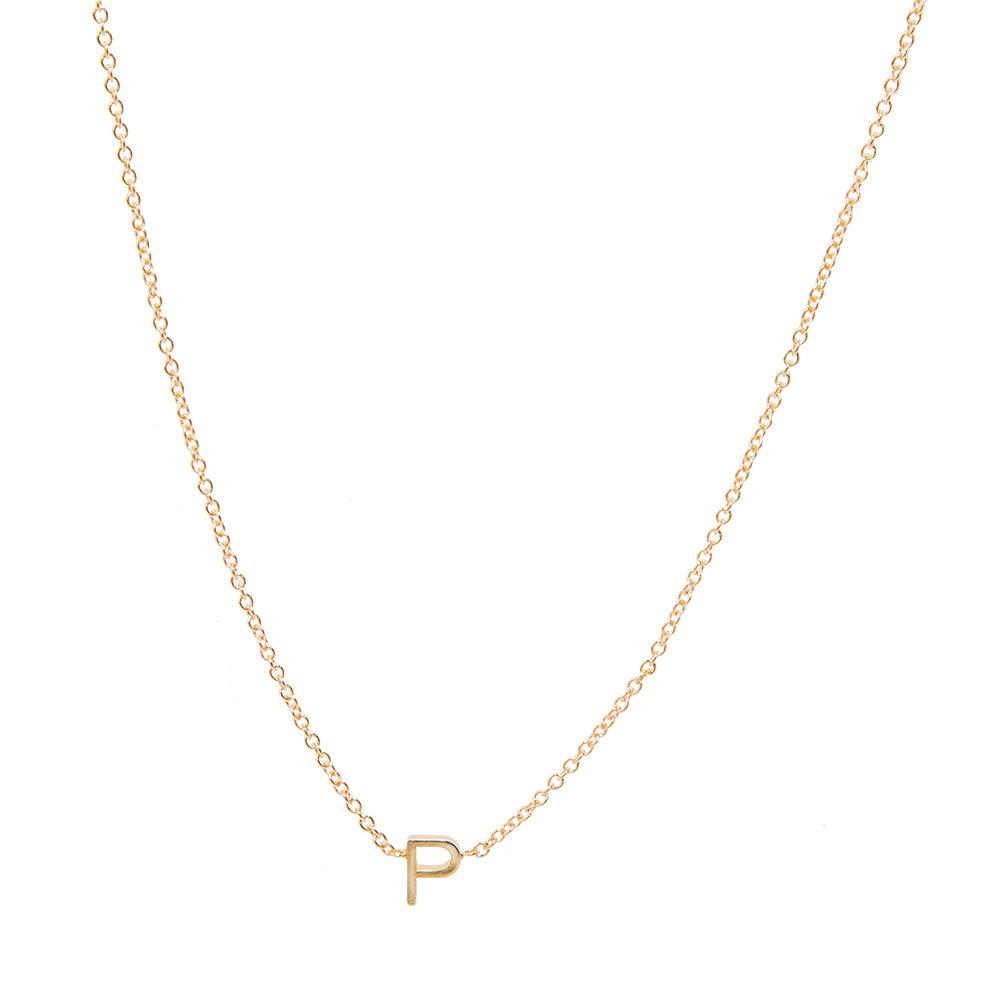 Customizable Gold Letters & Diamond Symbol Charms Necklace