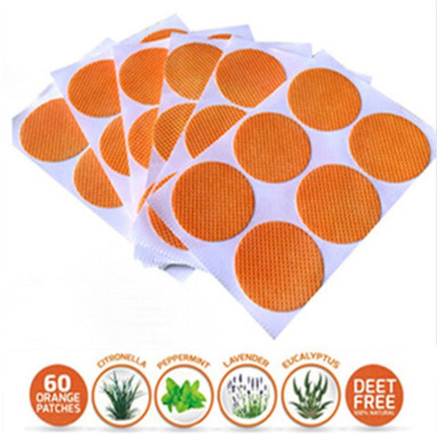 Mosquito Repellent Patches (60ct) - Milkin' Mommies