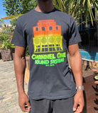 Channel One Stack v2 Black T-Shirt