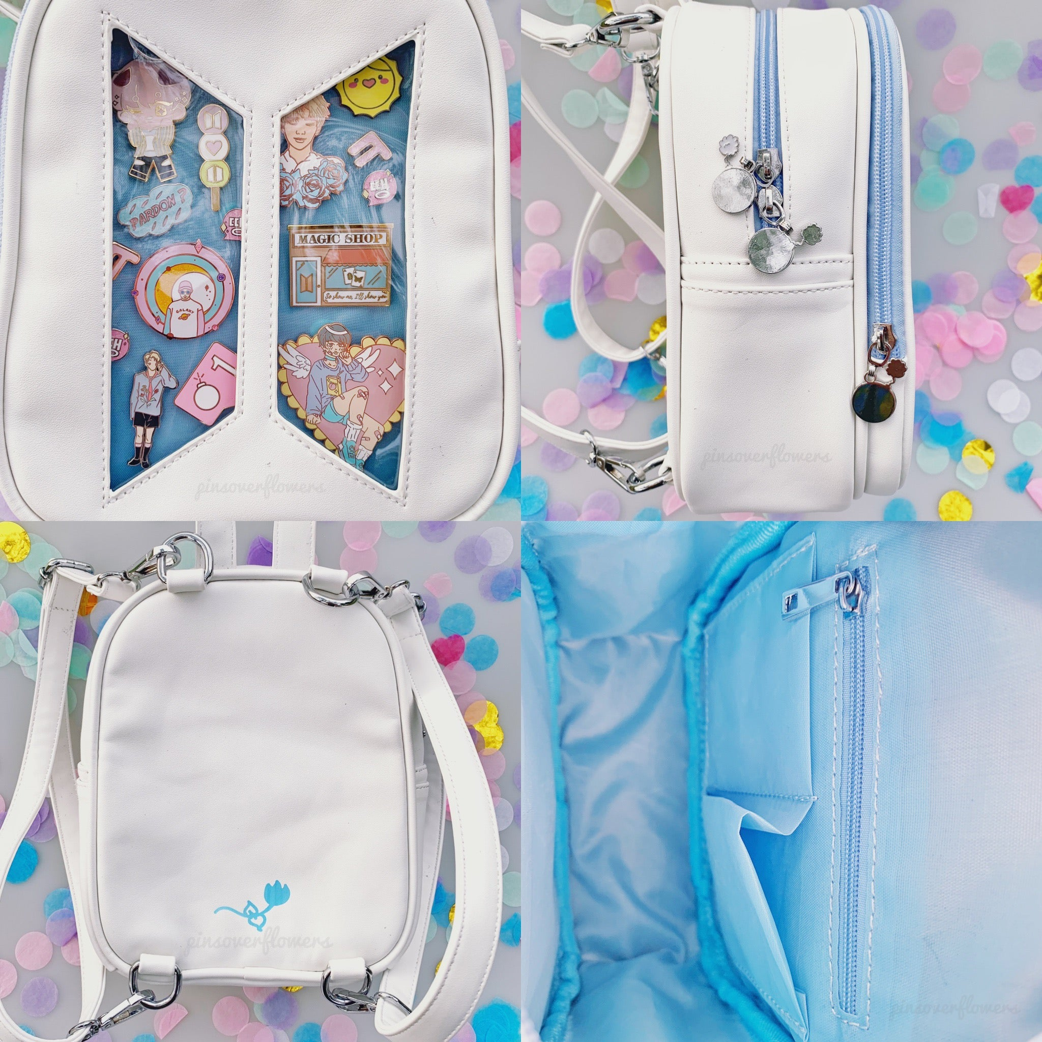 ARMY Mini Ita Bag (HER ver ) – Pins Over Flowers