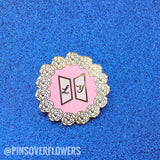 'Love Yourself Tour' Hard Enamel Pins