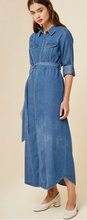 Sonia Maxi Denim Dress