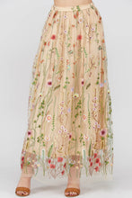 Ipsa Embroidered Maxi Skirt