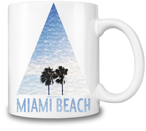 Miami Beach Coffee Mug-BigVacations