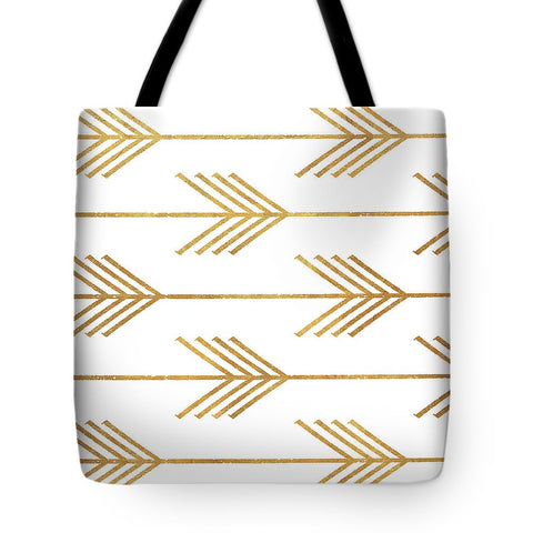 Golden Arrows I Tote Bag-BigVacations