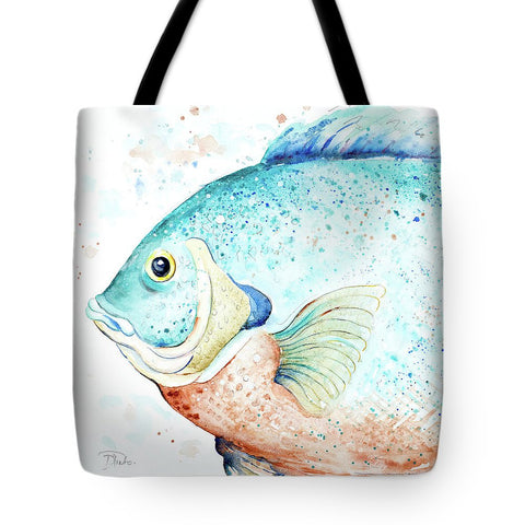 Water Fish Tote Bag-BigVacations