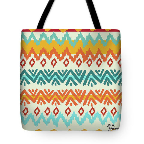 Navajo Mission Round Tote Bag-BigVacations