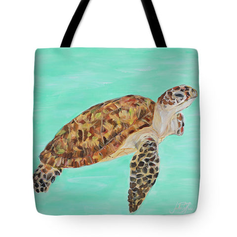 Sea Turtle I Tote Bag-BigVacations