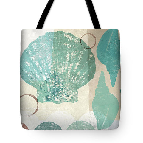 Shell Collage I Tote Bag-BigVacations