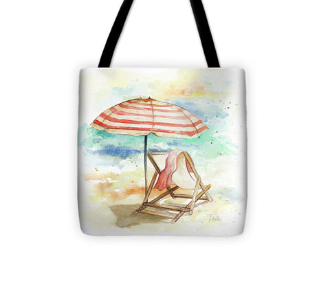 Umbrella On The Beach II Tote Bag-BigVacations
