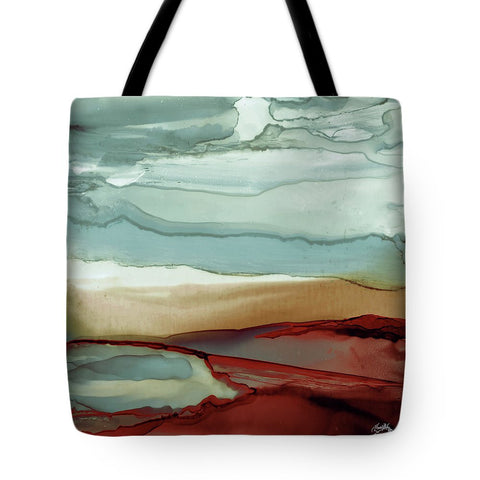 New Sky Square Tote Bag-BigVacations