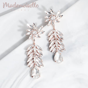 Elissa Bridal Marquise Earrings