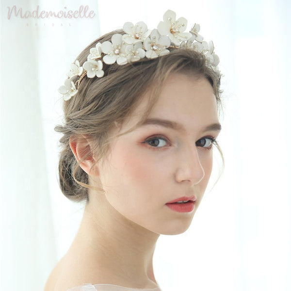 Blooming Love Headband with Rhinestones